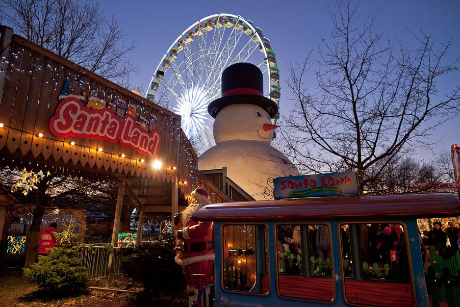 London Christmas market