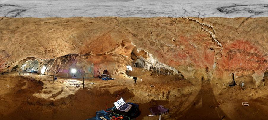 Digitalización 3D en la Cueva de Tito Bustillo