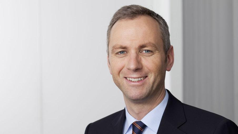 Matthias Boxberger, Vorstand der SH Netz, freut sich über den Ausbau der erneuerbaren Energie in Schleswig-Holstein