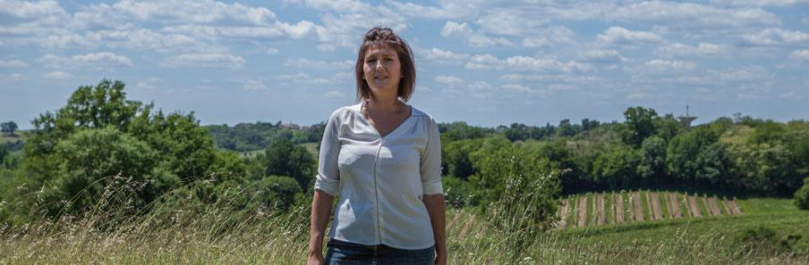 Anne-Laure Fabre-Nadler, candidate aux élections législatives 2017, 12ème circonscription de la Gironde, Saint-André-du-Bois, 16 mai 2017