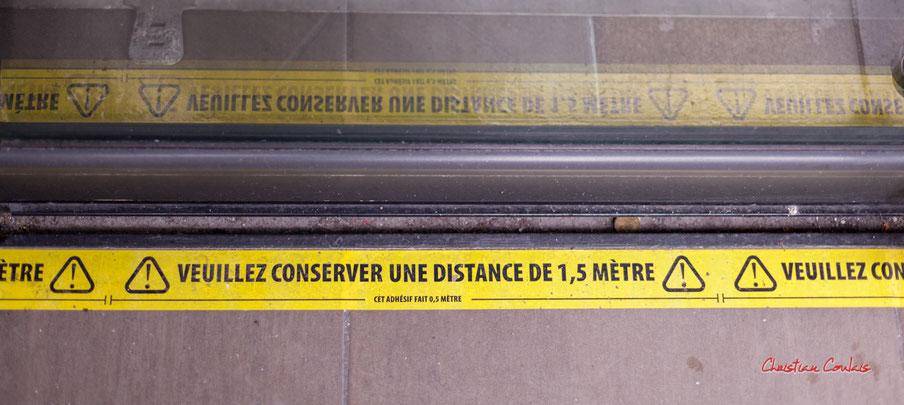 24 nuances de jaune. Bordeaux, samedi 5 décembre 2020. Photographie © Christian Coulais