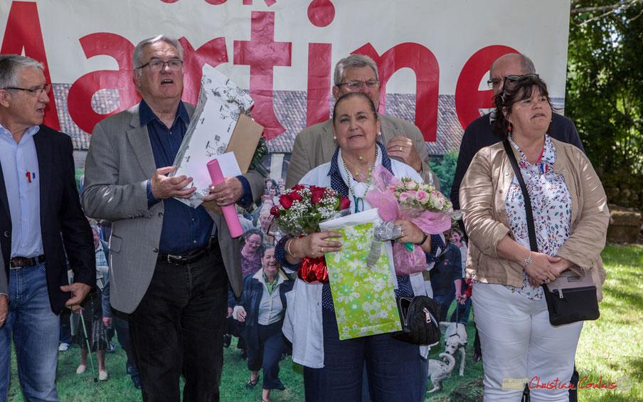Jubilé et arrêt de la vie politique de Martine Faure, députée de la 12ème circonscription de la Gironde