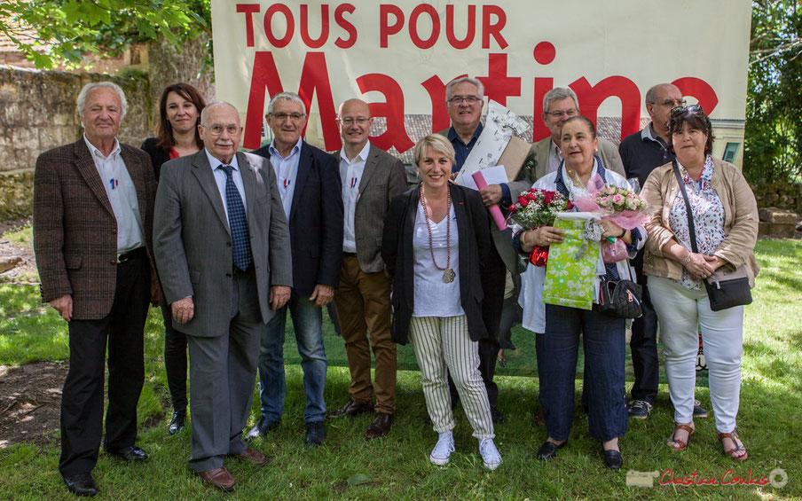 Jubilé de Martine Faure, Députée et Jean-Marie Darmian, suppléant, sur la 12ème circonscription de la Gironde, 14 mai 2017, Blasimon