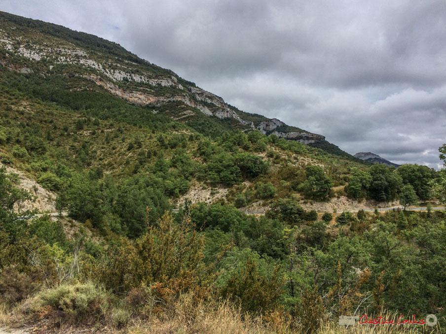 Route de Bigüézal, NA-2200, Castillo-Nuevo, Navarre / Carretera de Bigüézal, NA-2200, Castillo-Nuevo, Navarra
