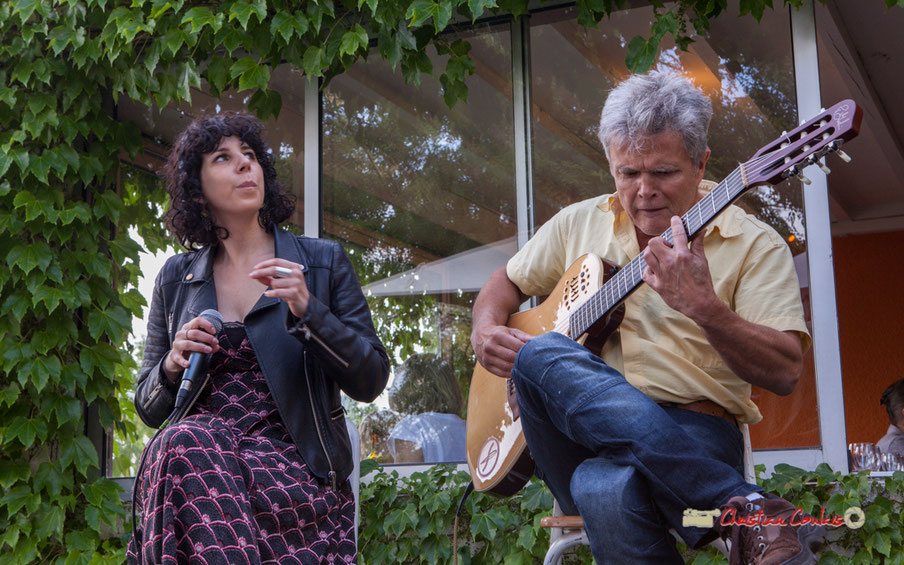 Charlotte Desbondant, Pascal Rauzé; Don't Explain. Festival JAZZ360 2019, Cénac. Samedi 8 juin 2019