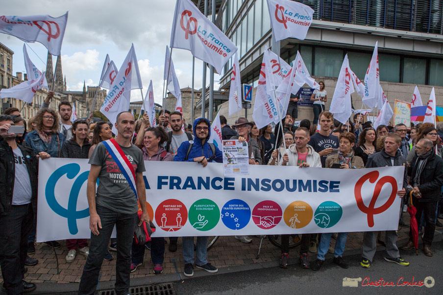 Loïc Prud'Homme, Député de Gironde et la France Insoumise, Cours d'Albret, Bordeaux