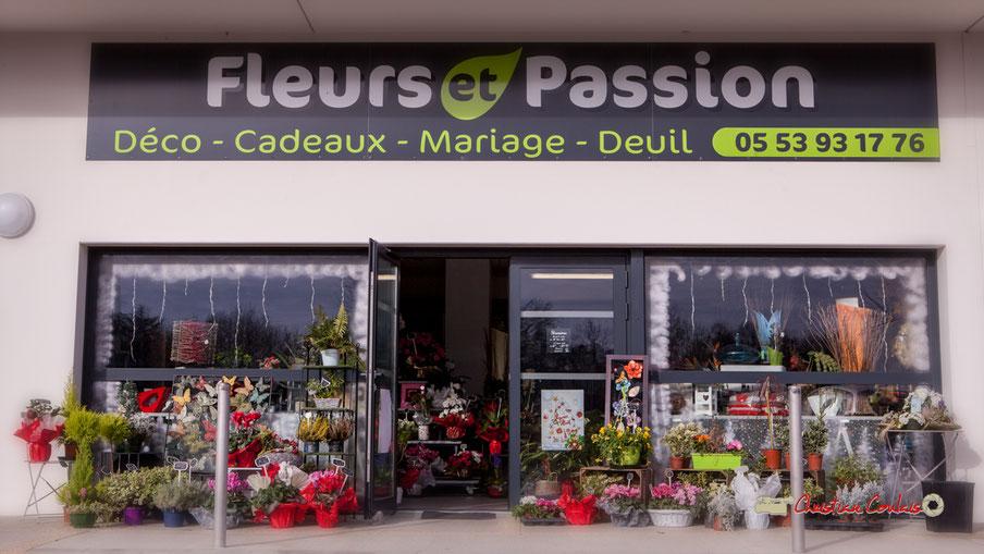 Fleurs et Passion, avenue de la confluence, 47160 DAMAZAN Reproduction interdite - Tous droits réservés © Christian Coulais