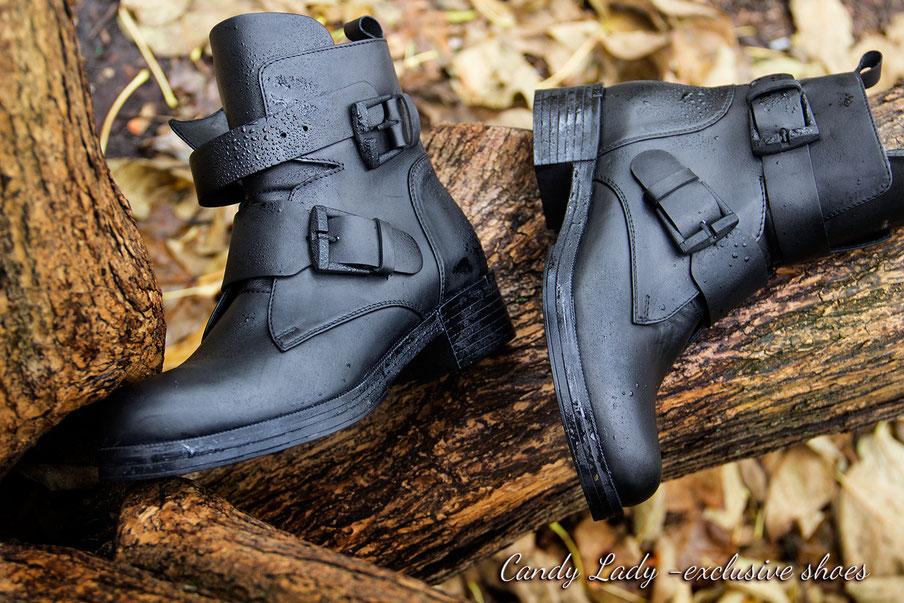 кожаные ботинки на осень без каблука Киев купить