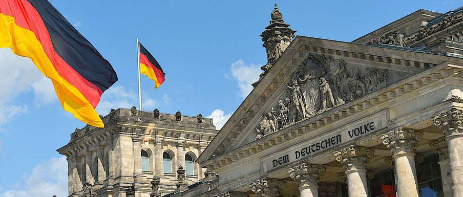 """Der Bundestag - Parlamentarische Repräsentation des Deutschen Volkes:  """"vom Volk, durch das Volk, für das Volk"""" - Abraham Lincoln"""