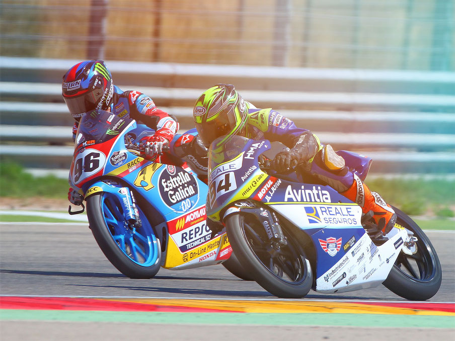 Marvin Siebdrath im European Talent Cup in Aragon 2018