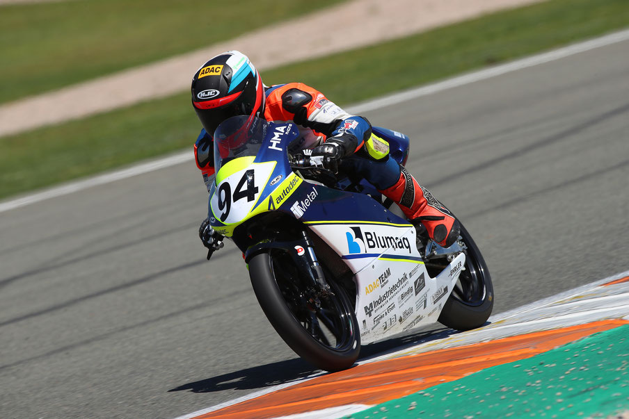 Marvin Siebdrath 2019 im European Talent Cup