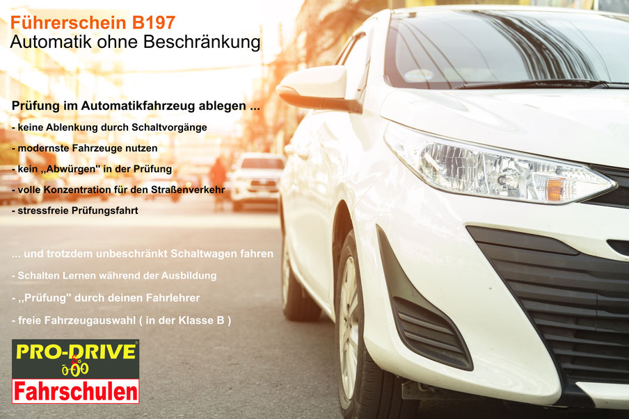 Klasse B197 in der Pro Drive Fahrschule Köln