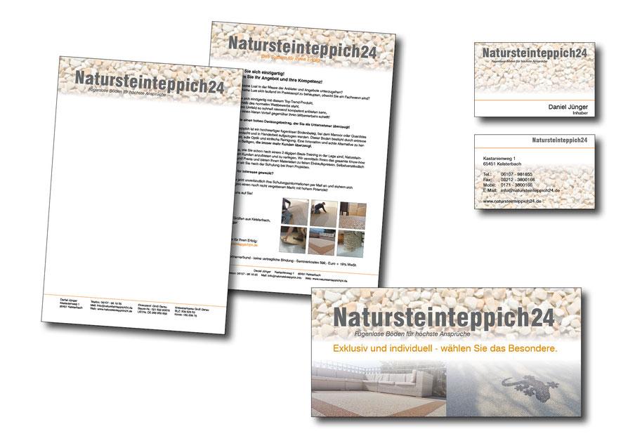 Geschäftsausstattung vom Grafikdesigner, Geschäftsausstattung gestalten lassen, Petra Kress Grafikdesign Frankfurt