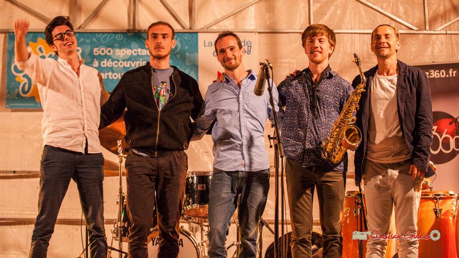 Festival JAZZ360 2019, Parc du Château de Pomarède; Adiren Brandéis Quintet