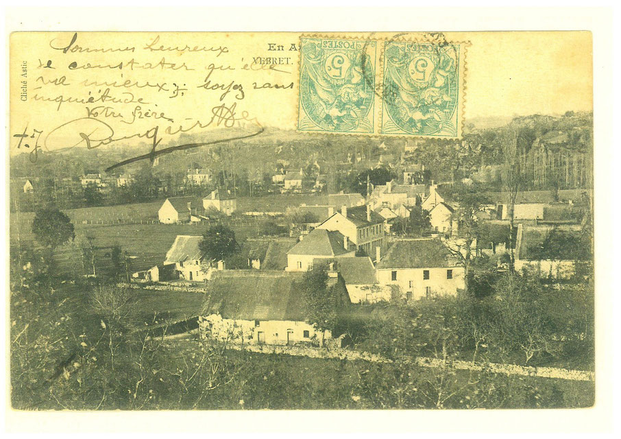Le Bourg vers 1905