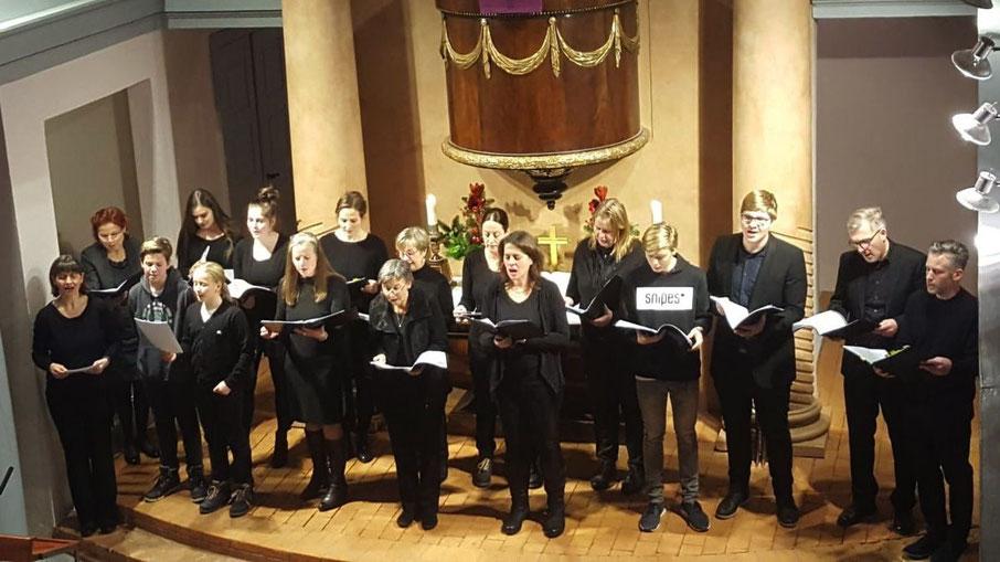 """Die """"Cheerful Voices"""" sind beim """"Tag der Kirchenmusik"""" zu hören"""