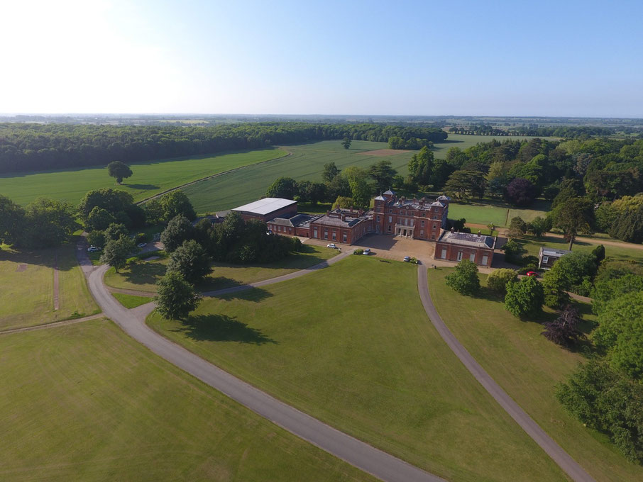 Picture of Langley Hall in parkland