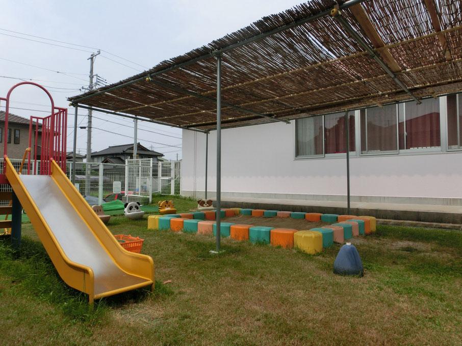 支援センターの園庭