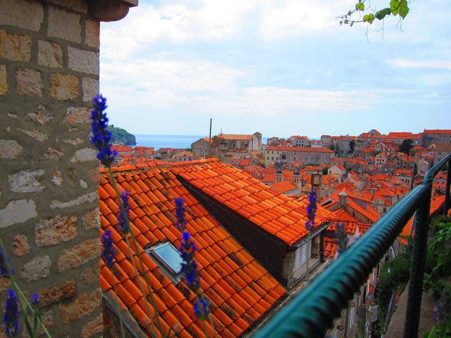 Lady Pi-Pi Ausblick von der Terrasse