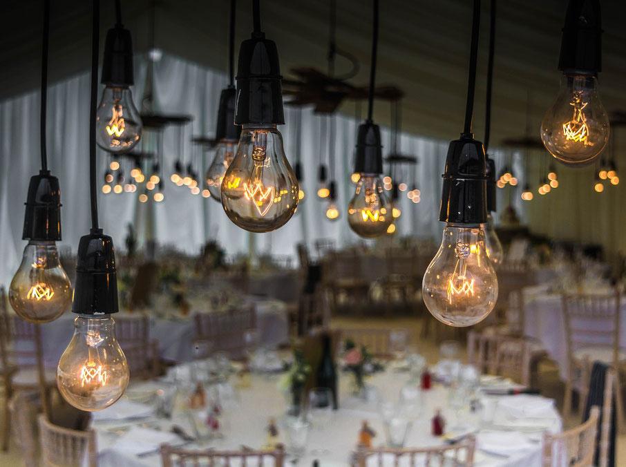 Les Coins Heureux wedding planner Paris et France mariage hiver décoration lumières mariage