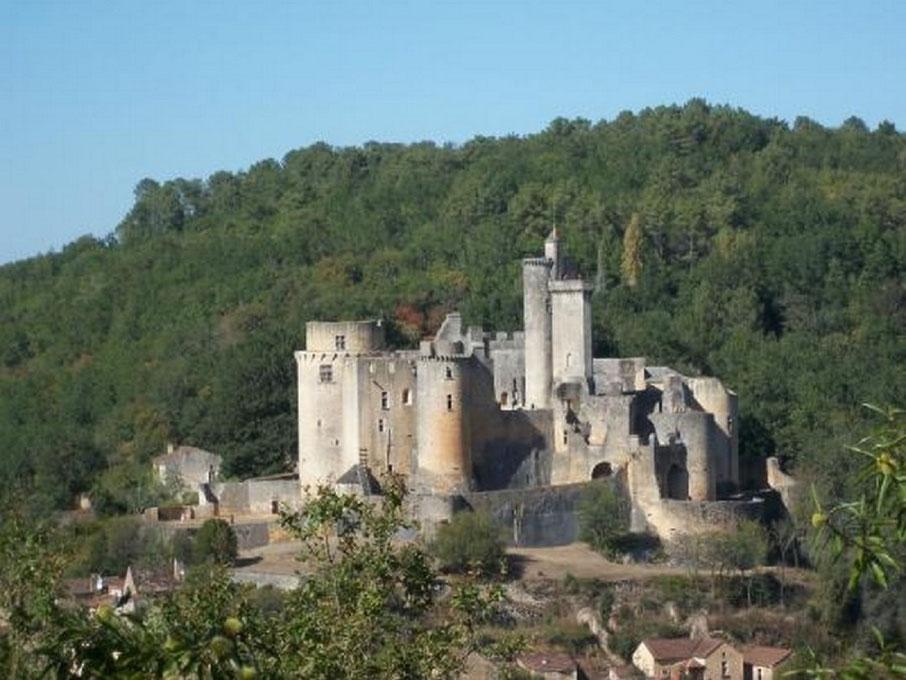 Gite de l'ébéniste : château de Bonaguil