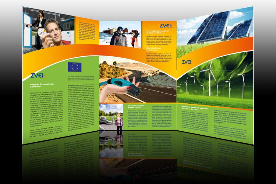 ES-DESIGN Flyer für ZVEI, Zentralverband Elektroindustrie