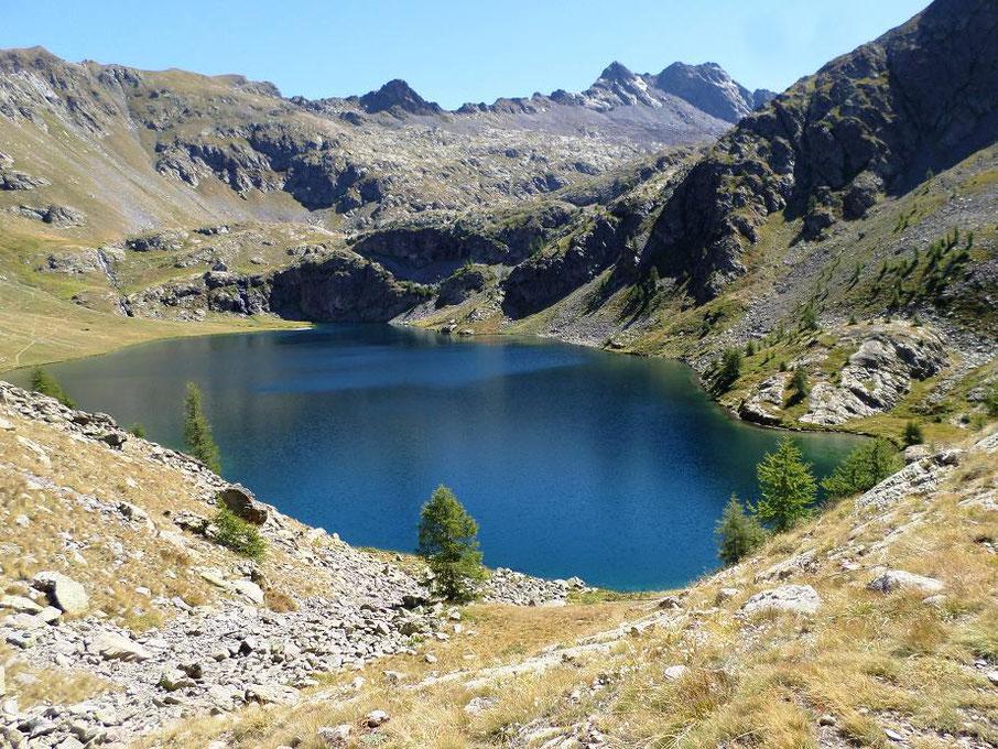 Le plus grand des lacs de Vens