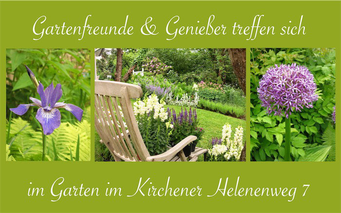 Offene Gartenpforte Helenenweg-Garten in Kirchen
