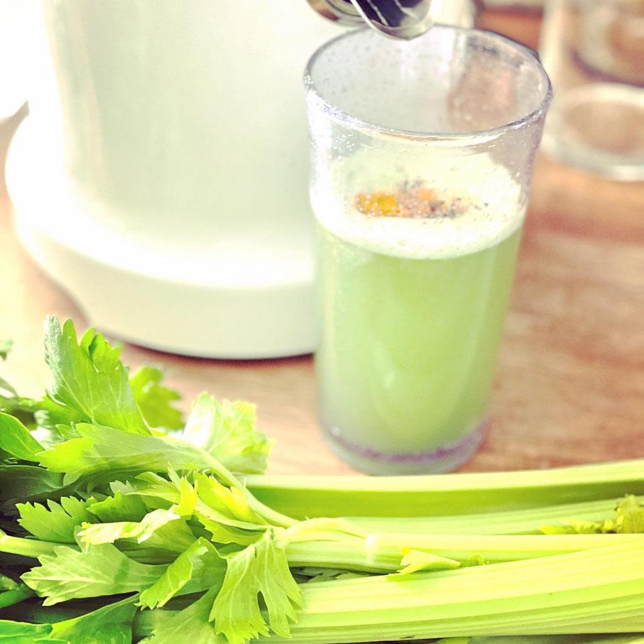 Selleriesaft Detoxsaft coldpressedjuice fresh juice clean eating detox