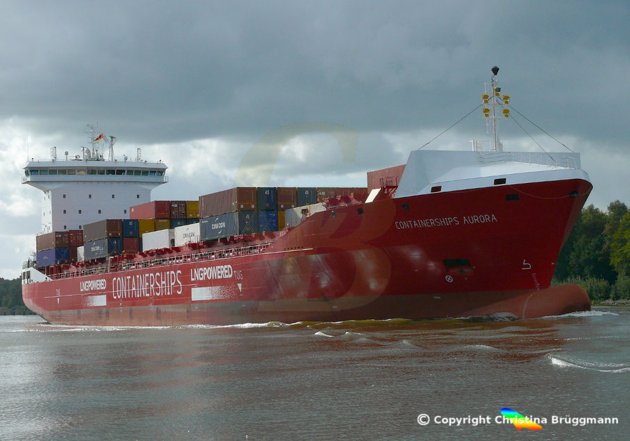 "Containerschiff ""CONTAINERSHIPS  AURORA"""