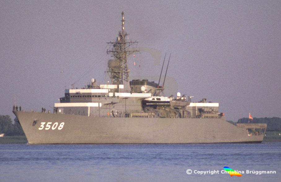 JMSDF Schulschiff KASHIMA 3508, Elbe 2005