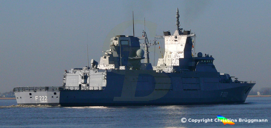 "Bundesmarine Fregatte Fregatte ""BADEN WÜRTTEMBERG"" F 222"