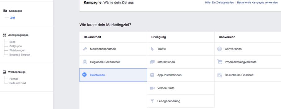 Mehr Reichweite, Facebook Anzeigen, Anzeigen schalten, Facebook Marketing