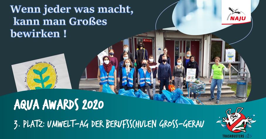 Umwelt-AG der Berufsschulen Groß-Gerau