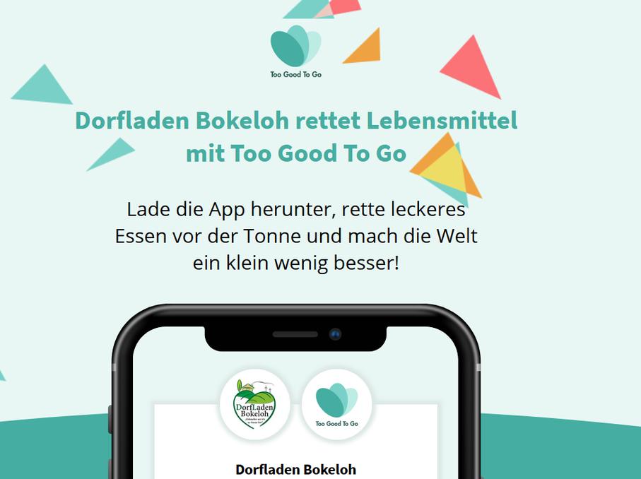 Dorfladen Bokeloh too good to go