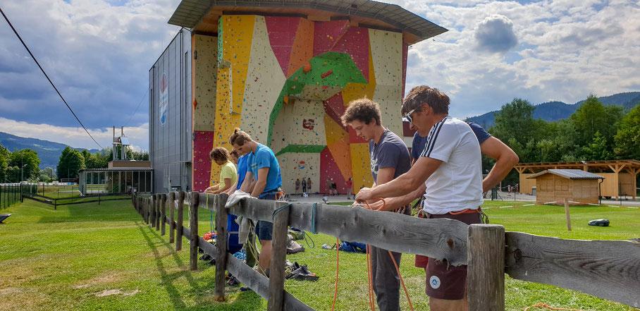 Sportkletterakademie Mitterdorf in het oostelijk gelegen Bundesland Steiermark