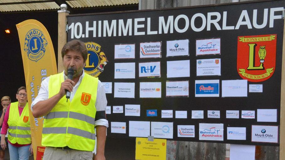 Wie im letzten Jahr wird Lions-Chef Robert Hüneburg de Veranstaltung leiten