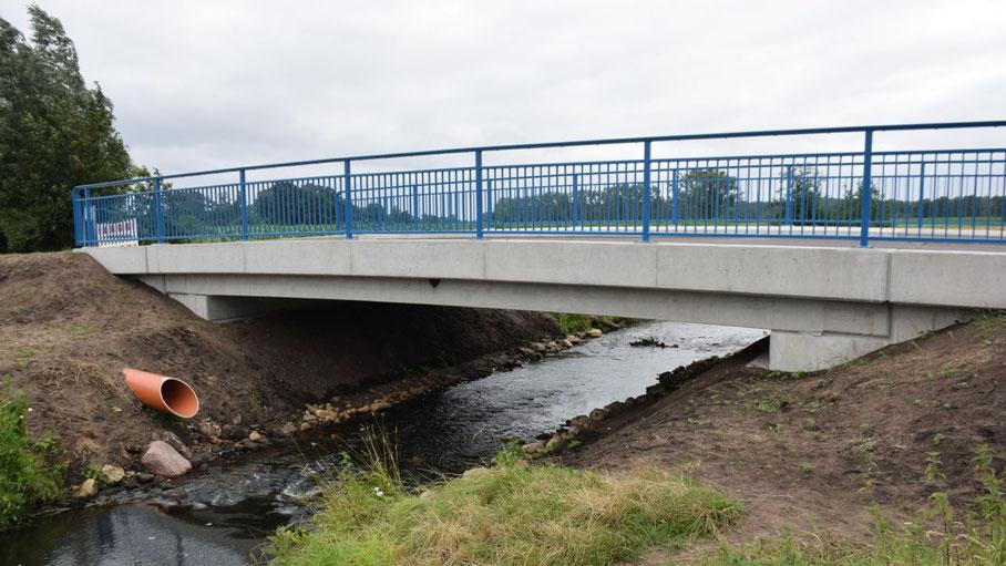 Wieder befahrbar: die Pinnaubrücke zum Himmelmoor