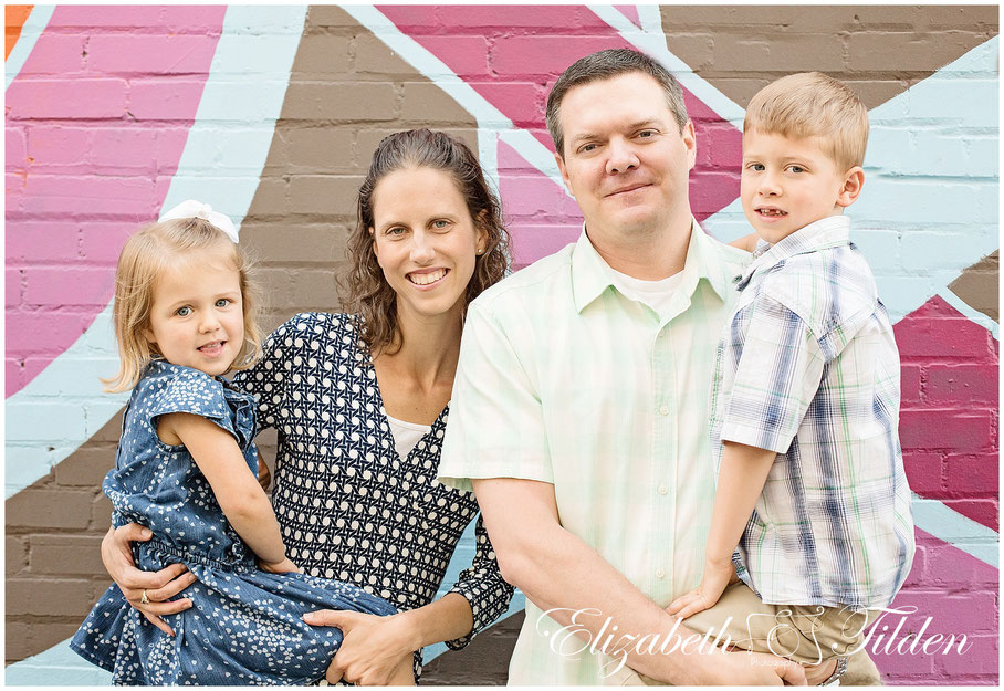 Downtown McKinney, McKinney Family photographer