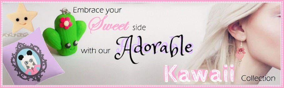 Embrace your sweet side with our adorable kawaii collection
