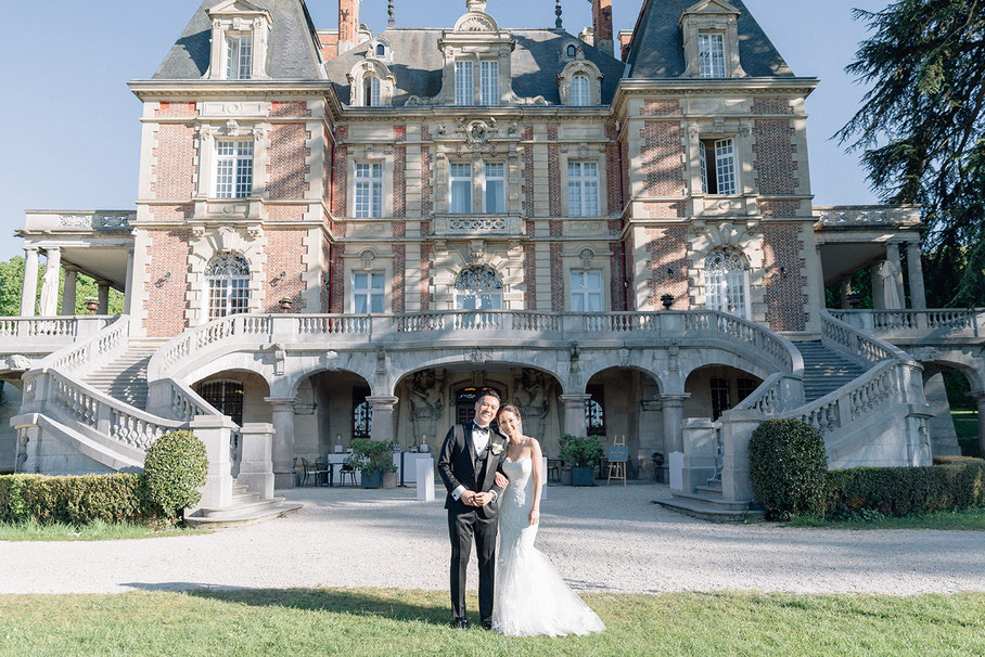 elegant destination wedding in France