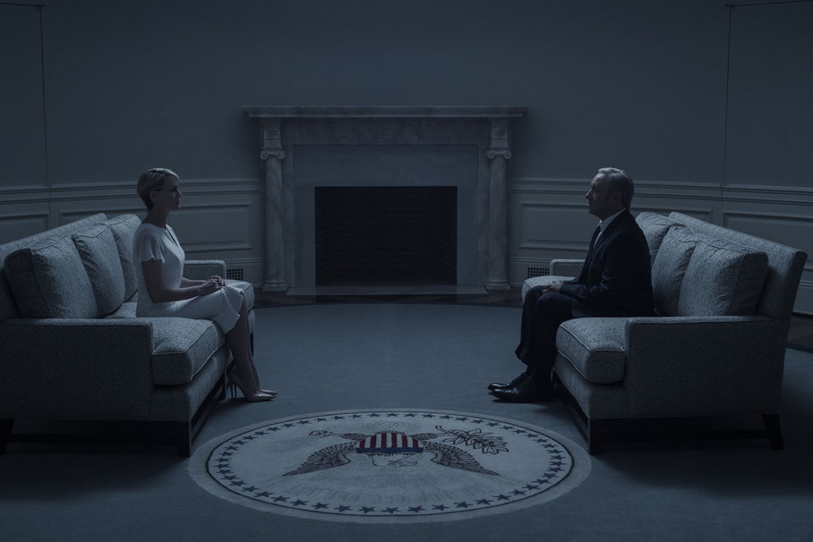 House Of Cards Staffel 4 - Kevin Spacey - Robin Wright - Sony - kulturmaterial
