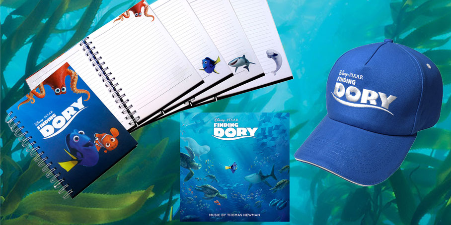 Findet Dorie Fanpaket Gewinnspiel - Disney - Pixar - kulturmaterial - Title