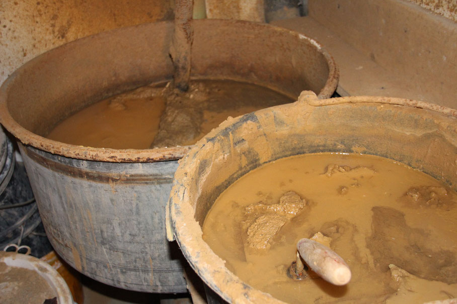 Lehm Aufbereitung