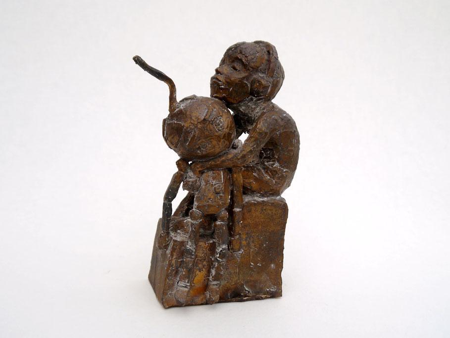 Roboterjunge Bronze