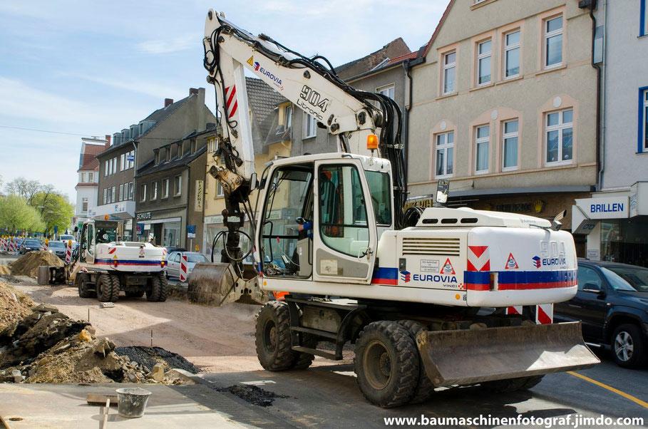Liebherr A 904 C und A 316 Eurovia