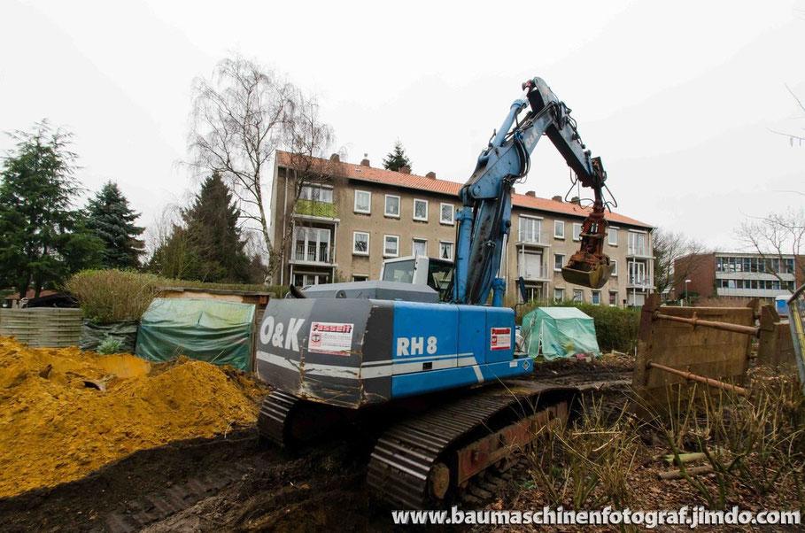 O&K RH 8 - aktuelle Bilder von der Kanalsanierung der Max-Planck-Straße sind online