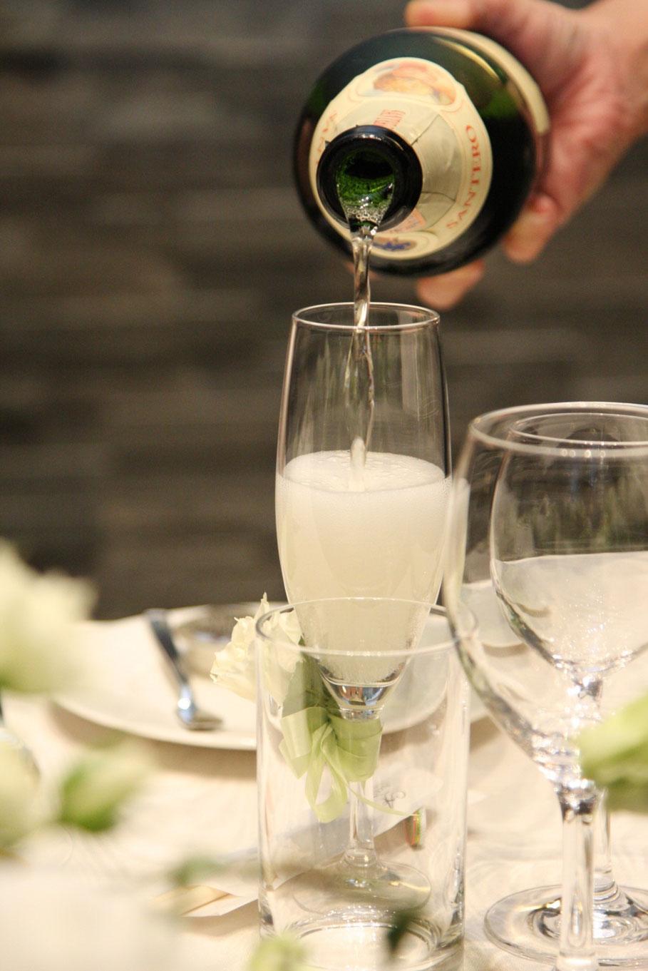 渋谷turtlesタートルズ パーティーコース Bコース スパークリング・ワインで乾杯