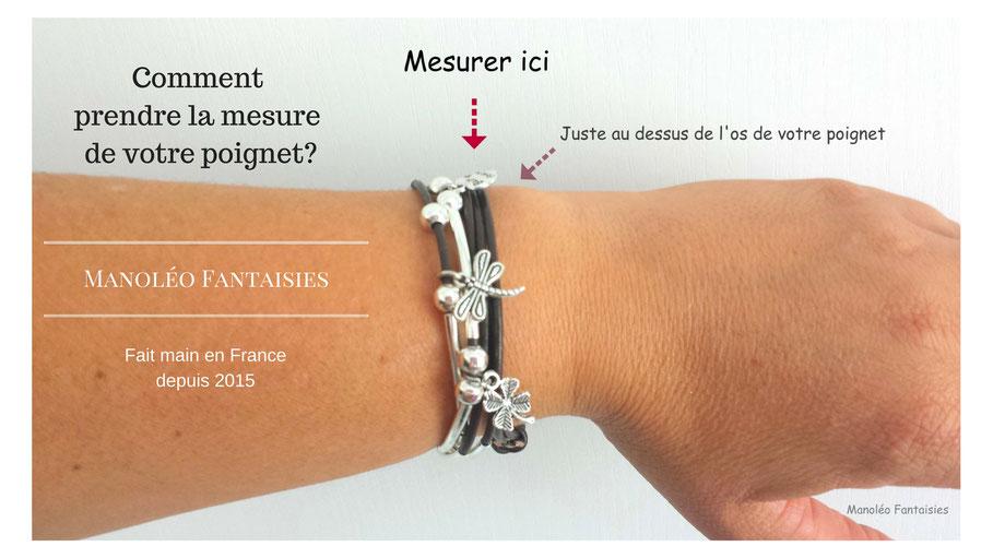 Comment prendre la mesure de votre poignet.