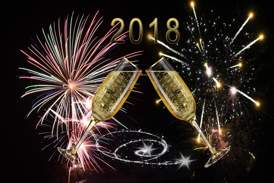 Bonne année 2018, blog manoleo fantaisies confidences blog manoleo fantaisies réveillon